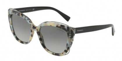 Tiffany 0TF4148 82133C Beige Havana - Grey Gradient
