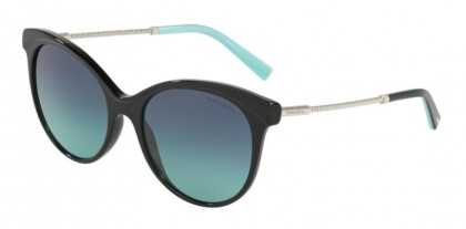 Tiffany 0TF4149 80019S Black - Azure Gradient Blue