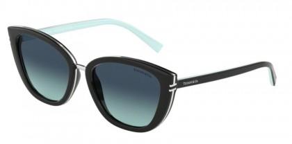 Tiffany 0TF4152 80019S Black - Azure Gradient Blue