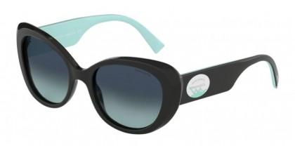 Tiffany 0TF4153 80019S Black - Azure Gradient Blue