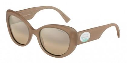 Tiffany 0TF4153 82623D Opal Beige - Brown Mirror Gradient Silver