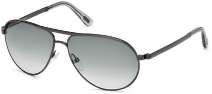 Tom Ford FT0144 08B Anthracite - Grey Shaded