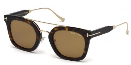 Tom Ford FT0541 ALEX-02 52E Dark Havana - Light Brown