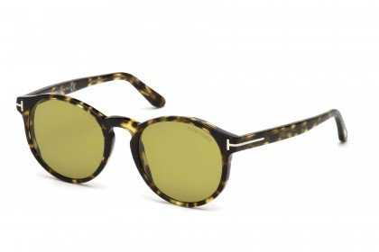 Tom Ford FT0591 IAN-02 55N Blonde Havana - Light Green