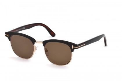 Tom Ford FT0623 LAURENT-02 02J Matte Black - Roviex