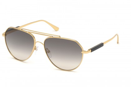 Tom Ford FT0670 ANDES 30B Gold - Grey Beige Shaded