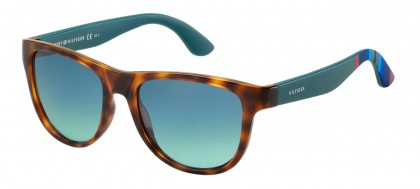 Tommy Hilfiger TH 1341/S H9P/X2 Havana Green - Blue
