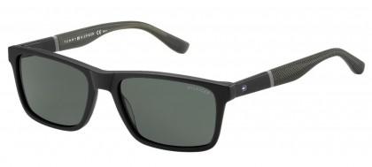 Tommy Hilfiger TH 1405/S KUN/P9 Black Grey - Grey