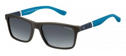 Tommy Hilfiger TH 1405/S T9T/HD Dark Brown Azure - Grey Shaded