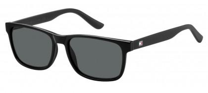 Tommy Hilfiger TH 1418/S D28/P9 Shiny Black - Grey