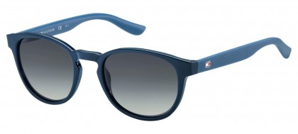 Tommy Hilfiger TH 1422/S W5B/HD Blue - Grey Shaded