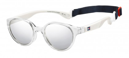 Tommy Hilfiger TH 1424/S Y84/SS Crystal White - Silver Mirror