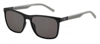 Tommy Hilfiger TH 1445/S L7A (NR) Black Grey - Brown Grey