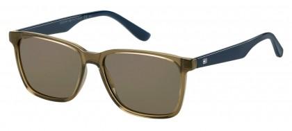 Tommy Hilfiger TH 1486/S 4C3/70 Olive Green Blue - Brown