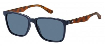 Tommy Hilfiger TH 1486/S PJP/KU Blue Havana - Blue