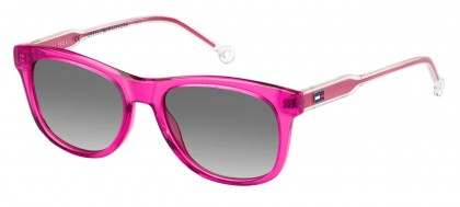 Tommy Hilfiger TH 1501/S MU1/9O Transparent Fuchsia - Grey Shaded