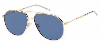 Tommy Hilfiger TH 1585/S 000/KU Rose Gold - Blue