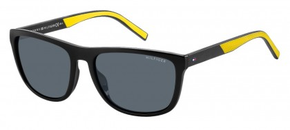 Tommy Hilfiger TH 1602/G/S 71C/IR Black Yellow - Grey