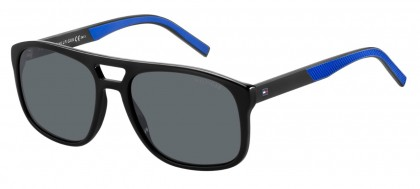 Tommy Hilfiger TH 1603/S D51/IR Black Blue - Grey