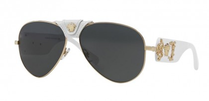 Versace 0VE2150Q 134187 Gold White - Gray