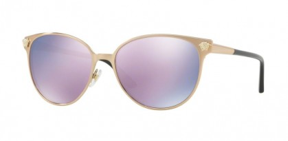 Versace 0VE2168 14095R Pink Gold - Dark Grey Mirror Pink