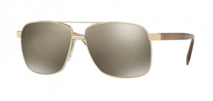 Versace 0VE2174 12525A Pale Gold - Light Brown Mirror Dark Gold