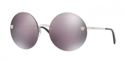 Versace 0VE2176 10005R Silver - Dark Grey Mirror Pink