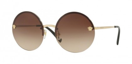 Versace 0VE2176 125213 Pale Gold - Brown Gradient
