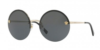 Versace 0VE2176 125287 Pale Gold - Grey