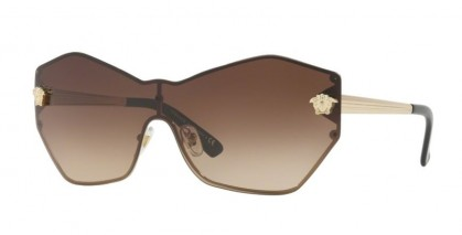 Versace 0VE2182 125213 Pale Gold - Brown Gradient