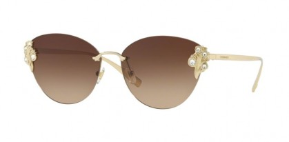 Versace 0VE2196B 125213 Pale Gold - Brown Gradient