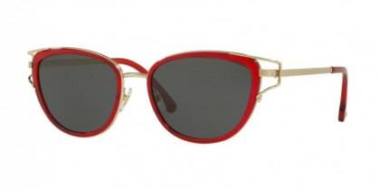 Versace 0VE2203 143987  Transparent Red Pale Gold - Grey