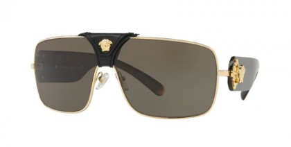 Versace 0VE2207Q 1002/3 Gold - Brown