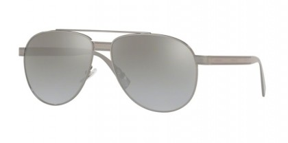 Versace 0VE2209 10016V Gunmetal - Light Grey Mirror Gradient Sil