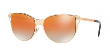 Versace 0VE2211 1412I4 Rose Gold - Grey Mirr Rose Gold Grad Oran