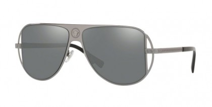 Versace 0VE2212 10016G Gunmetal - Grey Mirror Silver