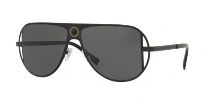 Versace 0VE2212 100987 Matte Black - Grey