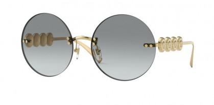 Versace 0VE2214 100211 Gold - Grey Gradient