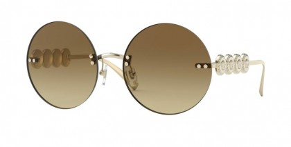 Versace 0VE2214 125213 Pale Gold - Brown Gradient