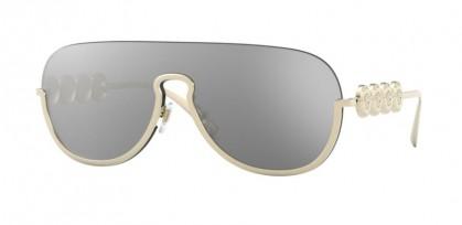 Versace 0VE2215 12526G Pale Gold - Light Grey Mirror Silver
