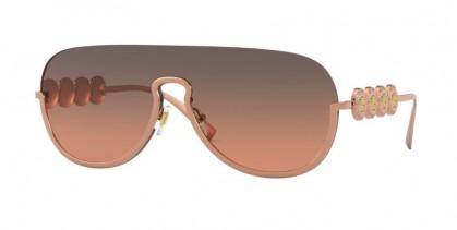 Versace 0VE2215 141218 Pink Gold - Orange Gradient Light Grey