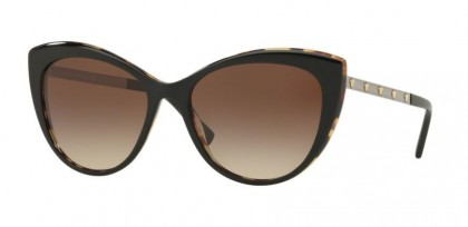 Versace 0VE4348 517713  Black Havana - Brown Gradient