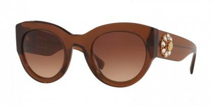 Versace 0VE4353BM 531574 Transparent Brown - Brown Gradient