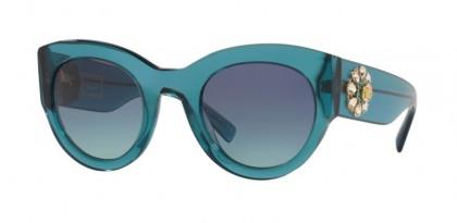 Versace 0VE4353BM 53164S Transparent Turquoise - Azure Gradient Dark Blue