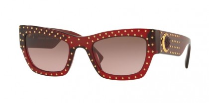 Versace 0VE4358 388/14  Transparent Red - Violet Gradient Brown