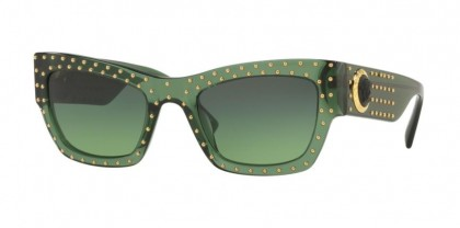 Versace 0VE4358 51442A  Transparent Green - Green Gradient Green