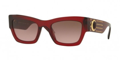 Versace 0VE4358 529714  Transparent Red - Violet Gradient Brown