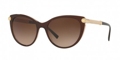 Versace 0VE4364Q 530013 Top Brown/Transparent - Brown Gradient