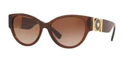 Versace 0VE4368 530813 Transparent Brown - Brown Gradient