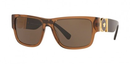 Versace 0VE4369 50283G Transparent Brown - Light Brown